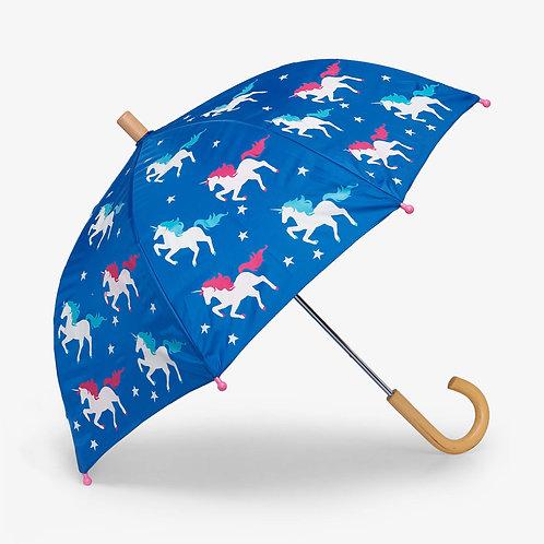 Hatley Twinkle Unicorns Colour Changing Umbrella
