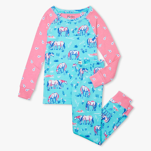 Hatley Painted Pasture Organic Cotton Pyjamas