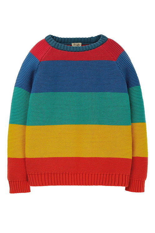 Frugi Rainbow Knitted Jumper