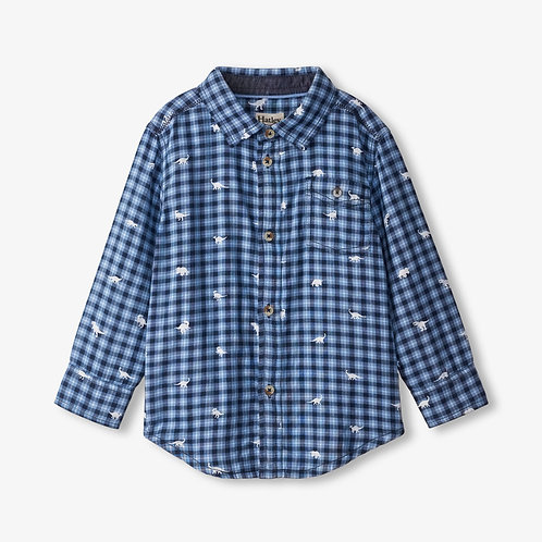 Hatley Mini Dinos Button Down Shirt