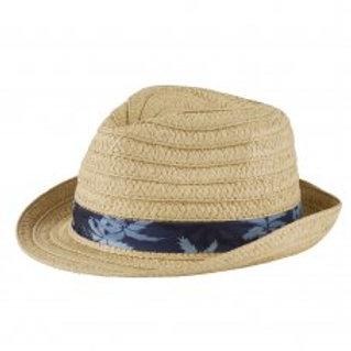 Palm Trim Trilby Hat