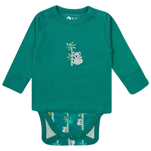 Piccalilly Koala Integrated Top and Bodysuit