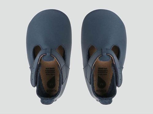 Bobux Pram Shoe Navy T Bar