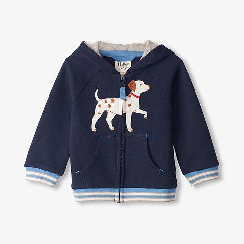 Hatley Little Pup Baby Raglan Hoody