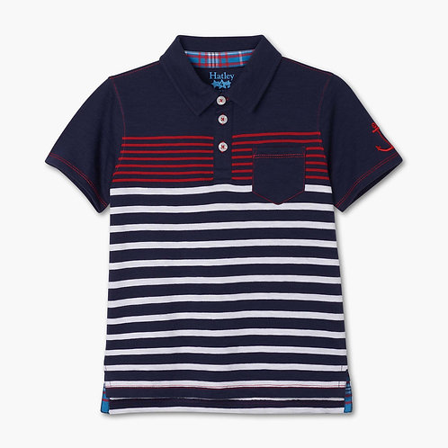 Hatley Cool Nautical Polo T-Shirt