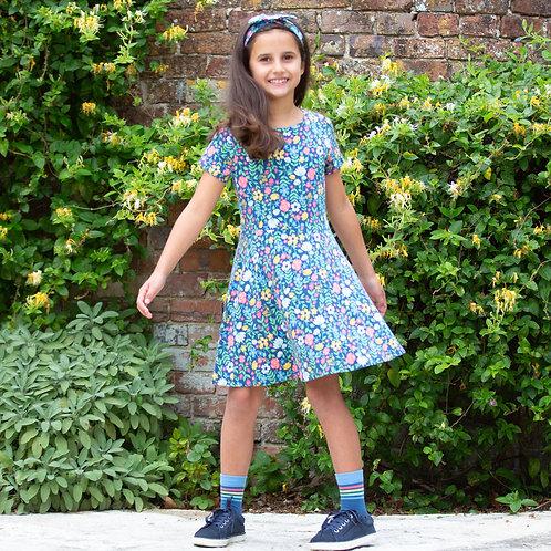 Kite Petal Press Skater Dress
