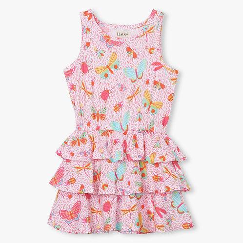 Hatley Garden Friends Ruffle Dress