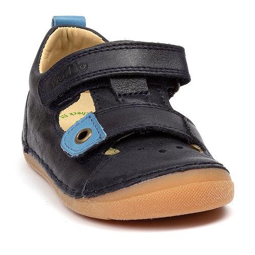 Froddo Dark Blue T-Bar Sandal G2150111
