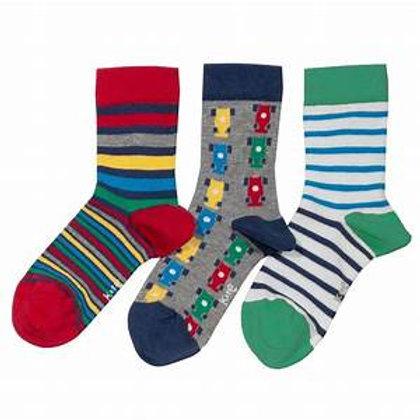 Kite 3 Pack e race socks