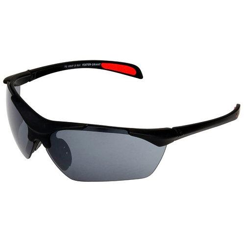 FG Black Wrap Around Sunglasses