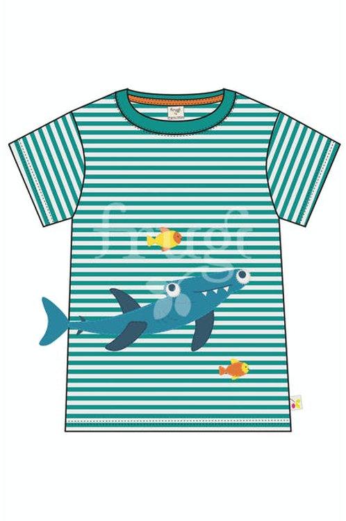 Frugi Joshua Applique T-Shirt