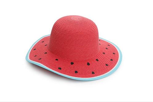 Flapjackkids Watermelon Straw Hat