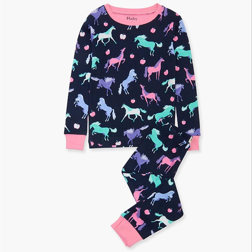 Hatley Happy Horses Organic Cotton Pyjama Set