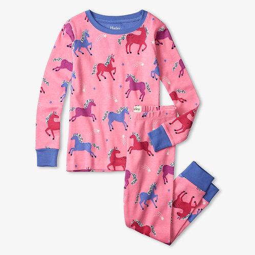 Hatley Dreamy Horses Organic Cotton Pyjama Set