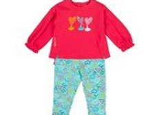 Agatha Ruiz De La Prada 2pc Heart Set