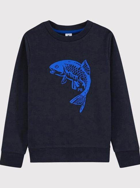 Petit Bateau Boys' Fleece Sweatshirt