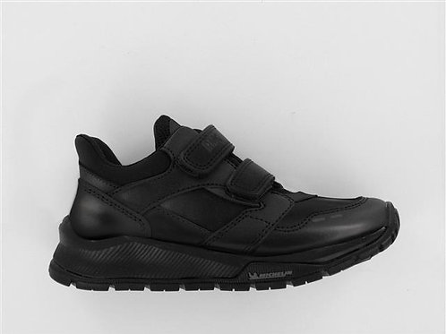 Primigi Black Michelin Sole School Shoe 6420655
