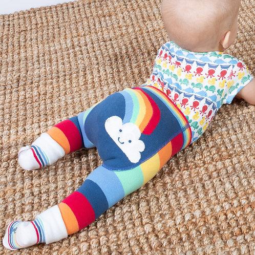 Kite Rainbow Knit Leggings