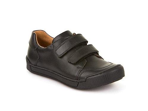 Froddo Black Leather School Shoe G4130014
