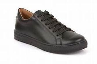 Froddo Black Lace-up School Shoe G4130059
