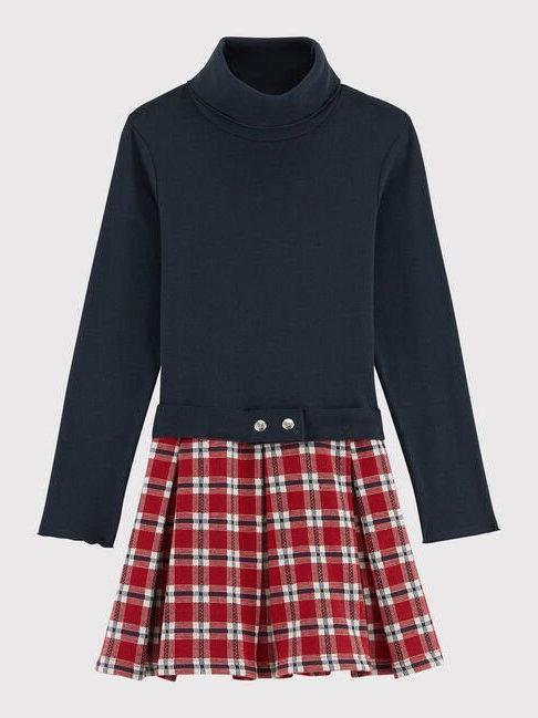 Petit Bateau Tartan Skirt Dress