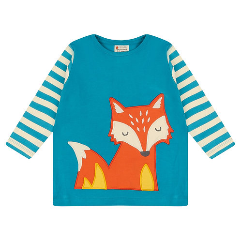 Piccalilly Friendly Foxes Top