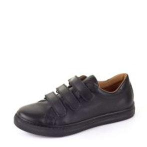 Froddo Black Leather School Shoes G4130054