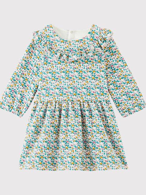 Petit Bateau Ditsy Floral Dress