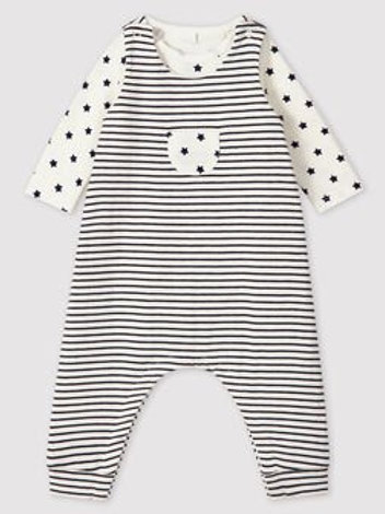 Petit Bateau Stripes and Stars 2 Piece set