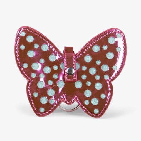 Hatley Shimmer Butterfly Mini Change Purse Bag Charm