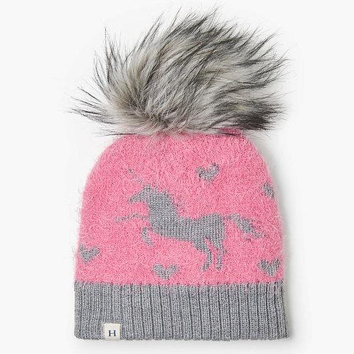 Hatley Shimmer Unicorn Winter Hat