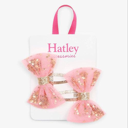 Hatley Shining Stars Bow Hair Clips