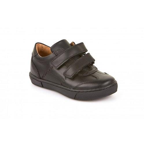 Froddo Black Leather School Shoe G3130058