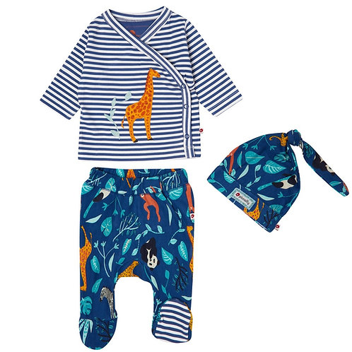 Piccalilly Wildlife 3 Piece Baby Set