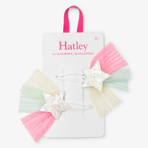 Hatley Tulle Starburst Hairclips