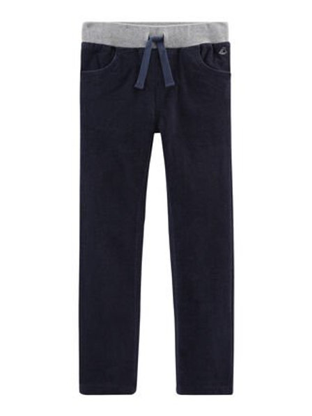 Petit Bateau Navy Cord Trousers