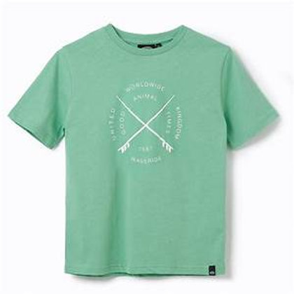 Animal Graphic Tee Waveride Meadow Green