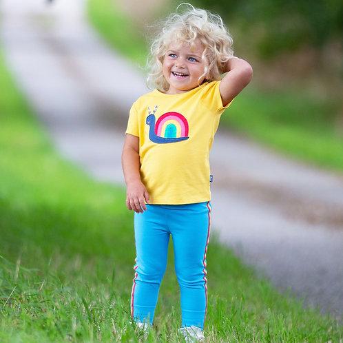 Kite Rainbow Snail T Shirt