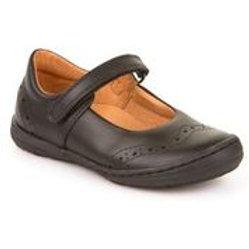 Froddo Black Leather School Shoe G3140077