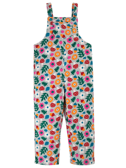 Frugi Neptune Cord Dungaree, Tin Roof Lost Words