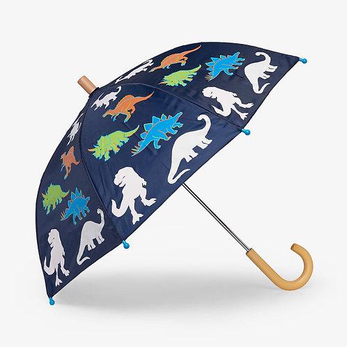 Hatley Linework Dinos Colour Changing Umbrella