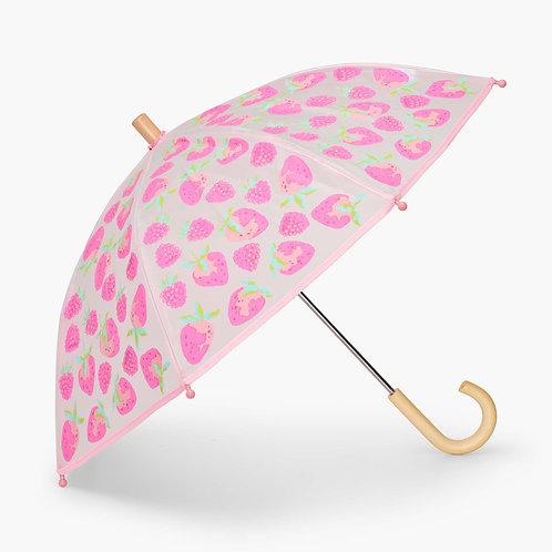 Hatley Delicious Berries Clear Umbrella