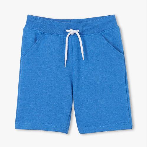Hatley Blue Melange Terry Shorts