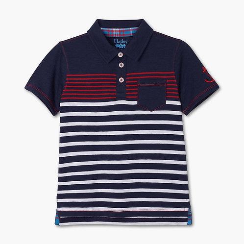 Hatley Cool Nautical Polo T Shirt