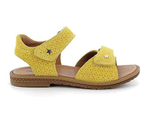 Primigi Suede Yellow Sandal 7394044