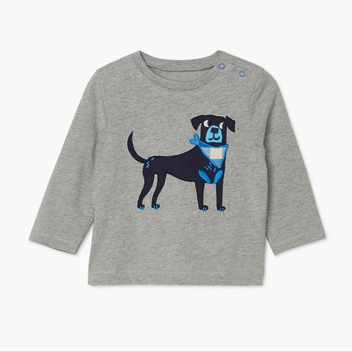 Hatley Preppy Pup Long Sleeve Tee