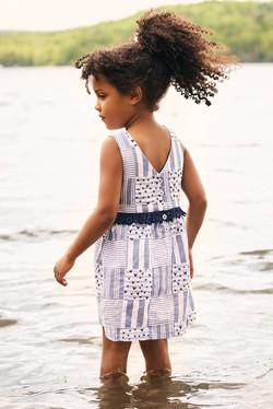 Hatley Blue Madras Dress