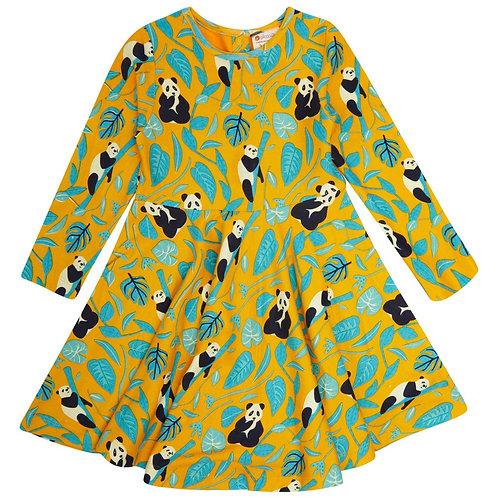 Piccalilly Panda Skater Dress