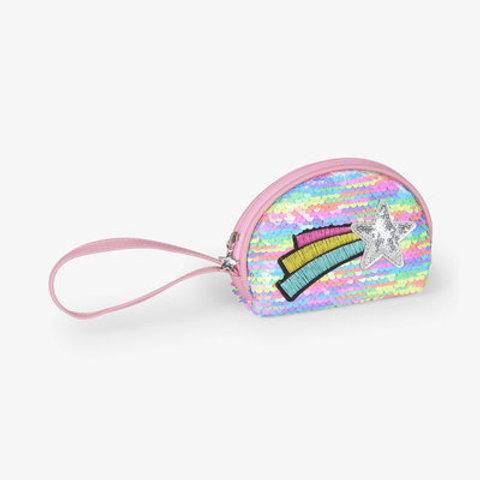 Hatley Rainbow Star Mini Change Purse Bag Charm