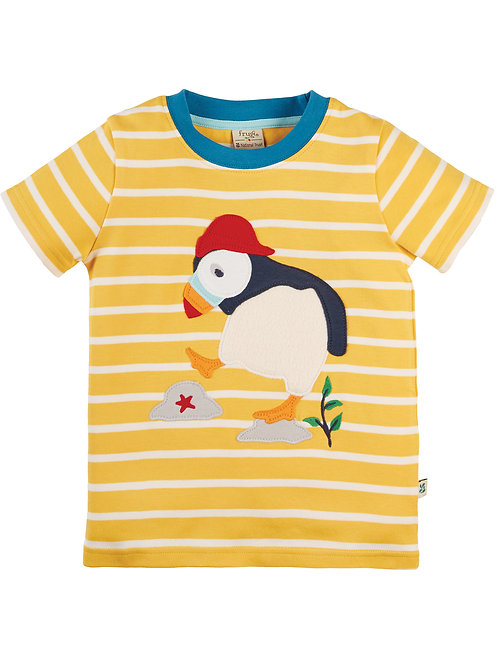 Frugi The National Trust Sid Applique T-Shirt